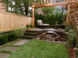 Backyard Ideas For Privacy After Breathing Room Landscape Design Ideas For Small Backyards