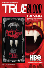 amazon com foothills creations men u0027s true blood fangs clothing
