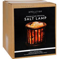 himalayan salt l basket evolution wooden basket himalayan salt crystal l unique natural gift