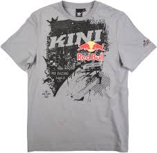 kini motocross gear kini red bull bleed t shirt t shirts darkblue veste enduro kini