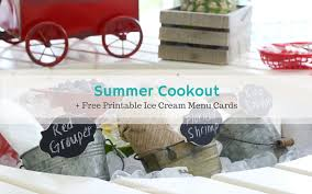 the top summer cookout printables ideas