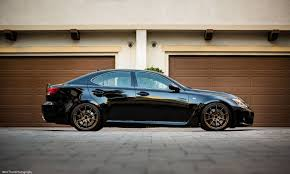 stanced lexus isf ze40 f 19x9 5 22 and r 19x10 5 22 isf fitment help page 2