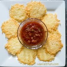 Fried Parmesan Easy Parmesan Crisps Low Carb And Gluten Free Low Carb Yum