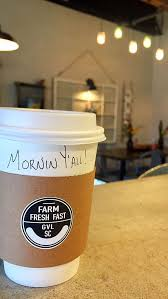 greenville s farm fresh fast now serving due south coffee