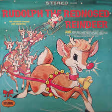 caroleer singers orchestra rudolph red nosed