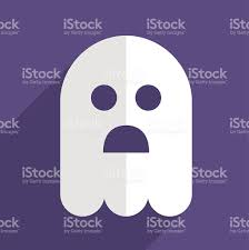 halloween ghost flat icon badge stock vector art 511806745 istock
