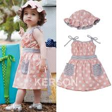dress and hat baby cosas summer clothes baby