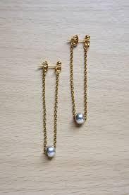 earrings diy chain earrings diy tutorial