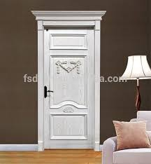 Interior Wood Doors With Frosted Glass Frosted Glass One Panel Interior Wooden Doors In Foshan Doors
