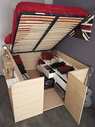 Clever BedCloset Combo Makes Room For Storage And Sleep Sqft - Parisot bunk bed