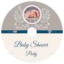 baby shower party dvd template vol 3 by owpictures graphicriver