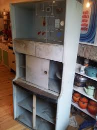 1950s Kitchen Furniture by 1950 U0027s Cabinet Makeover My New Craft Station Lulastic And The
