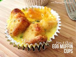 Toaster Oven Muffins Ham And Cheese Egg Muffin Cups U2013 New Leaf Wellness