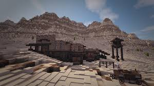 Terrain Map Started Working On A Wild West Town Using My Custom Desert Terrain