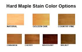 How To Mix And Match Cherry Oak And Maple Wood Stains For by Problems With Hard Maple Staining