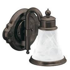 moen wall lighting bathroom lights waterhill bronze tones oil