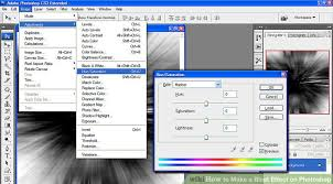 how to make a blast effect on photoshop 6 steps with pictures