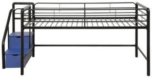 creekside twin full step loft bed with desk art van furniture