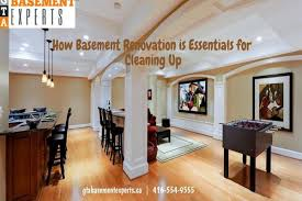 basement renovation how basement renovation is essentials for cleaning up