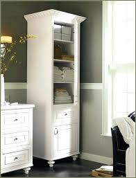 bathroom linen storage cabinet great new tall linen storage cabinet regarding property remodel