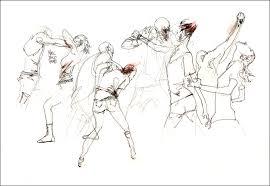 kung fu fighting fast as lightning citizen sketcher