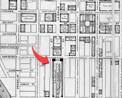 chicago union station floor plan la salle street station