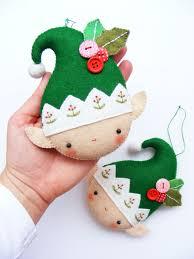adorable no nonsense diy felt ornaments looks like