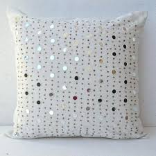 Lovely White Decorative Pillows Small Size White Ruffle Accent