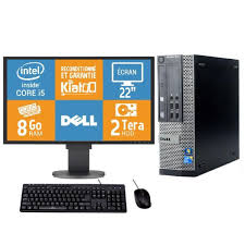 ecran pc bureau pc bureau dell optiplex 7010 intel i5 8 go ram 2 to disque dur