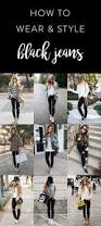best 10 with black jeans ideas on pinterest street