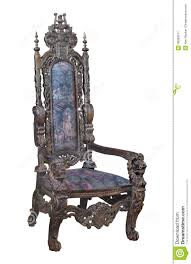 Antique Wooden Armchairs Antique Fancy Carved Wooden Chair Isolated Stock Photo Image