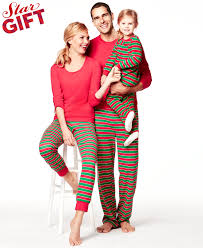 family pajamas matching striped sets only at macy s
