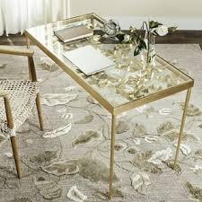 gold finish desks u0026 computer tables for less overstock com