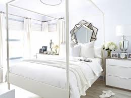 White Bedroom Pop Color All White Bedroom With Pop Of Color Home Combo