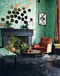 transform your living room with statement wallpaper the room edit