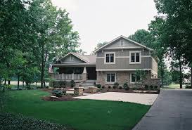 split level house plans with porches