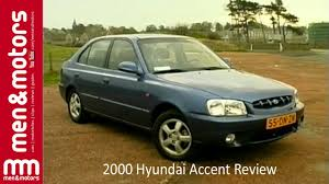 2000 hyundai accent review youtube