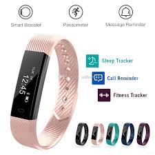 bracelet tracker images Id115 smart bracelets fitness tracker smartband tracking step jpg