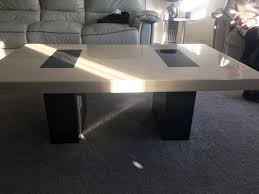 solid marble coffee table solid marble coffee table in laindon essex gumtree