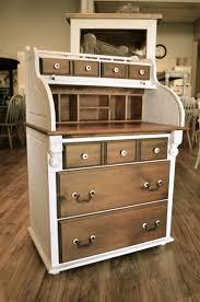 Refinishing Wood Furniture Shabby Chic by Shabby Chic Roll Top Secretary Desk White Desks Shabby Chic