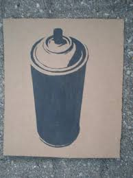 Spray Cans Paint - spray paint can stencil by solkone project queen pinterest