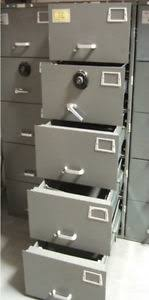 safe heavy duty mosler gsa 5 drawer file cabinet combination lock