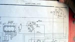 sharp color tv cirket diagram sharp tv schematic diagram free