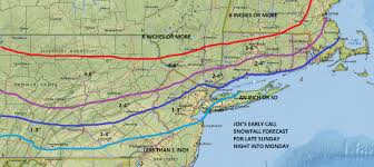 New Jersey New York Map by Snow Forecast Maps New Jersey New York Connecticut Weather