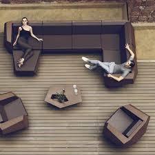 vondom faz modern outdoor sectional sofa patio furniture