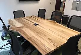 Live Edge Conference Table Furniture Raleigh Nortrh Carolina Live Edge Wood Designs