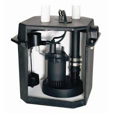 flotec 6 gallon sink tray system with 1 4 hp sump pump fp0s1800lts