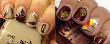 easy thanksgiving nail designs easy nail