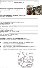 prevention routiere siege auto dossier cm1 prevention routiere pdf