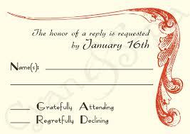 Wedding Invitation Reply Card Wedding Invitation Rsvp Wording Theruntime Com